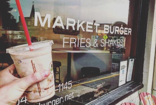 Market Burger Shakes