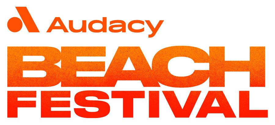 Audacy Beach Festival Logo