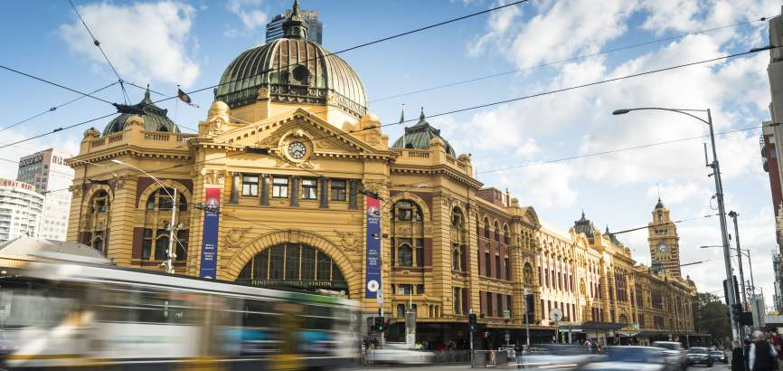 Flinders Street Tram