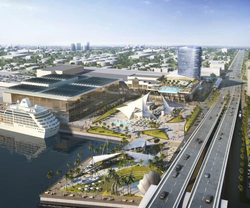 convention center rendering
