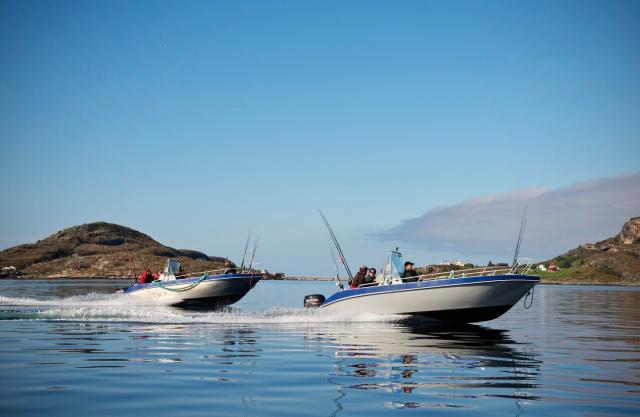 Båttur til fiskeplassene utenfor Bessaker