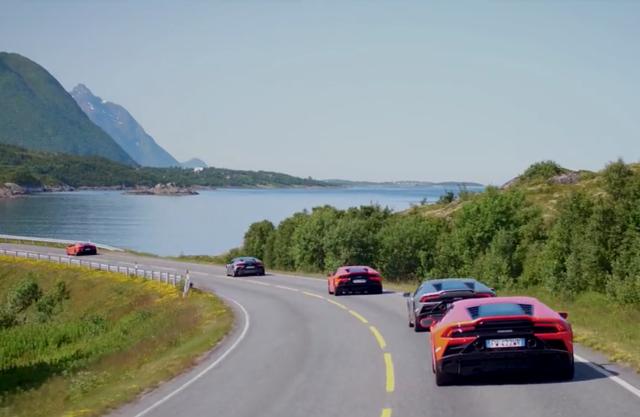 Lamborghini Avventura 2019 Lofoten