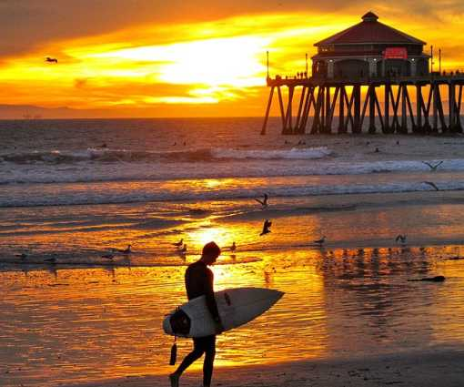 More About Huntington Beach S Weather 6 Best Spots To Watch A Surf City Sunset