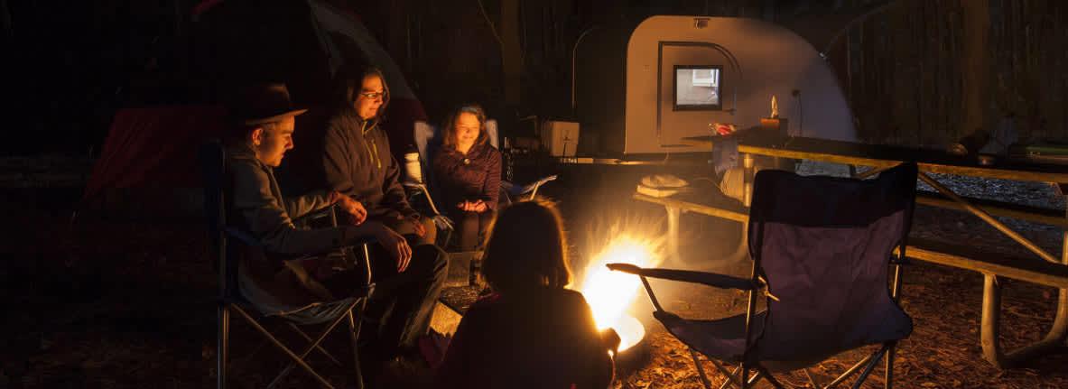 Camping-Indiana-Dunes