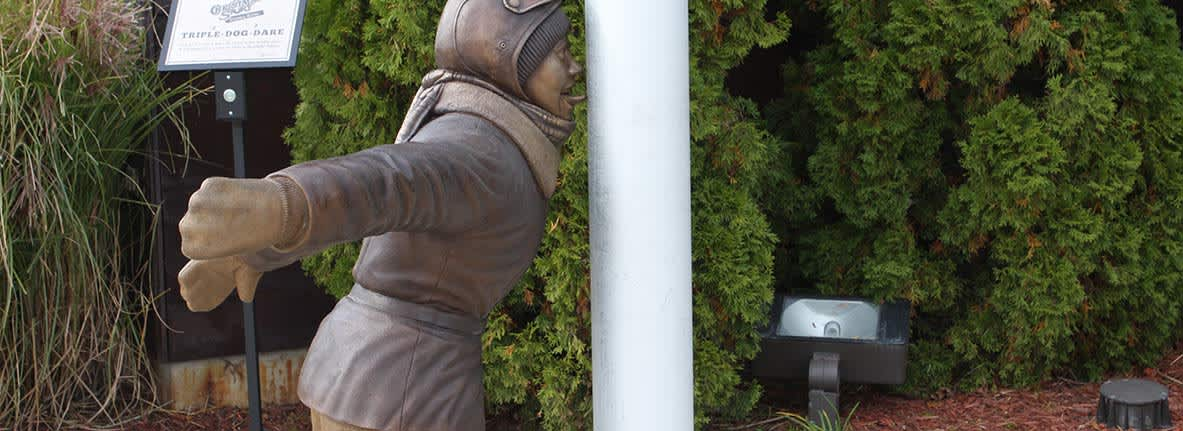 Flick-Statue-Indiana-Welcome-Center-Hammond