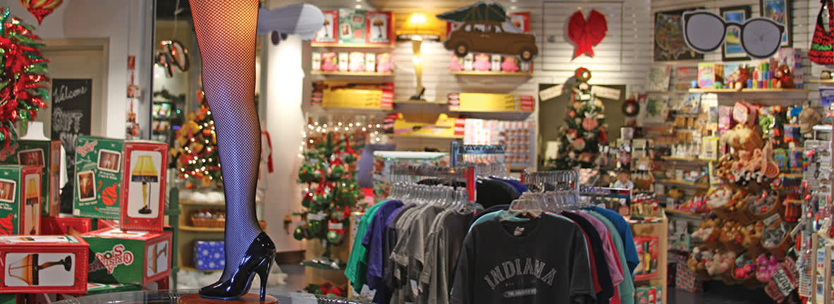A Christmas Story gift shop