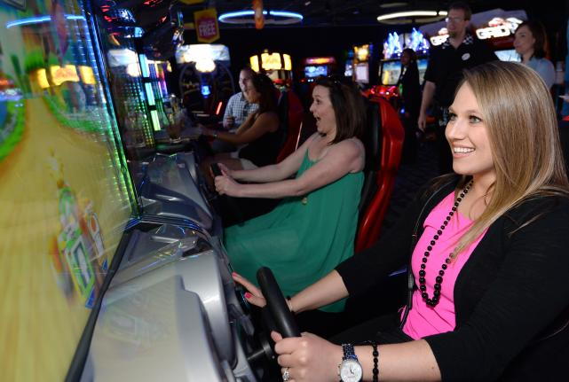 dave and busters attractions in panama city beach florida