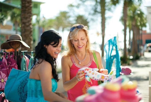 shopping panama city beach florida