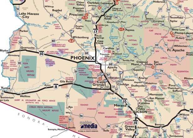 Map Of Phoenix Az Phoenix Maps | Greater Phoenix Trail Guides & Street Maps Map Of Phoenix Az