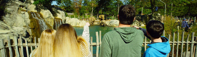 Roger Williams Park Zoo Header