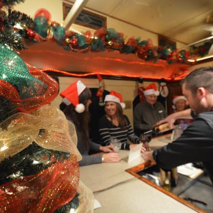 Christmas Wine Train