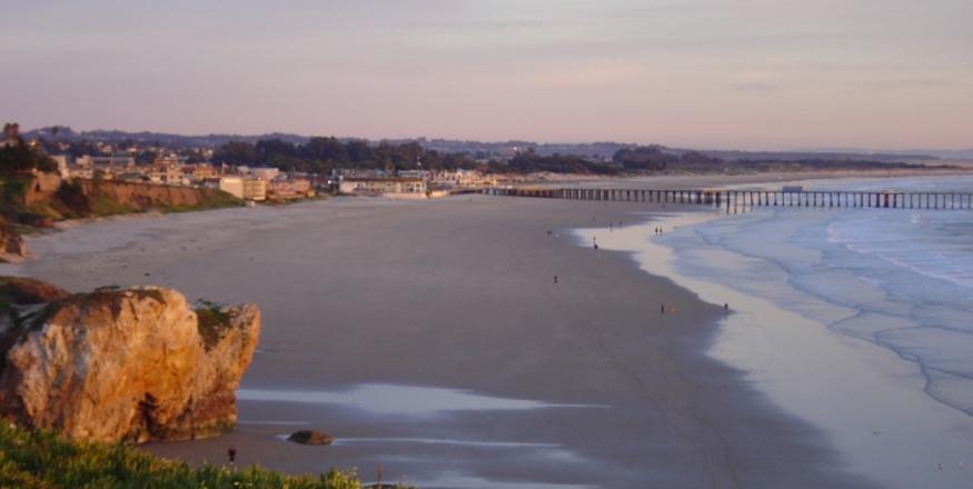 Pier-Beach-Sunset