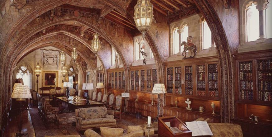 Hearst Castle study