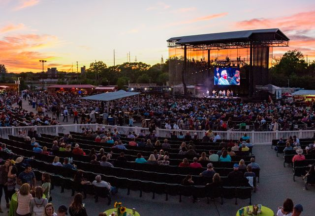 Major Live Music Venues In Raleigh N C Pnc Arena Coastal Credit Union Park At Walnut Creek Red Hat Amphitheater And More