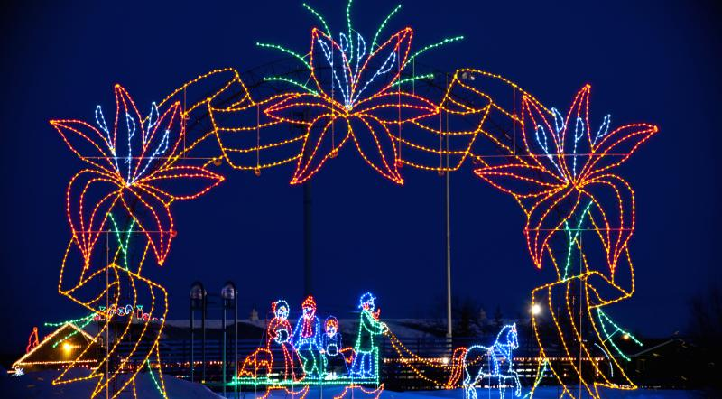 lights at Winter Wonderland