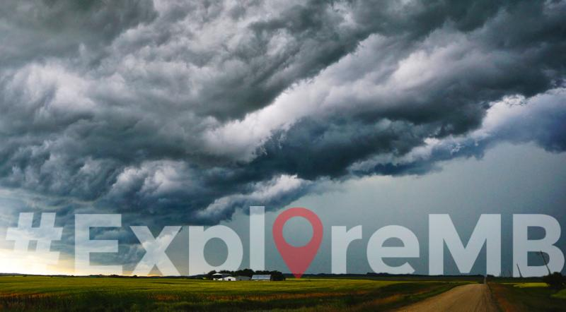 #exploremb summer challenge – thunderstorms, big, bold skies.