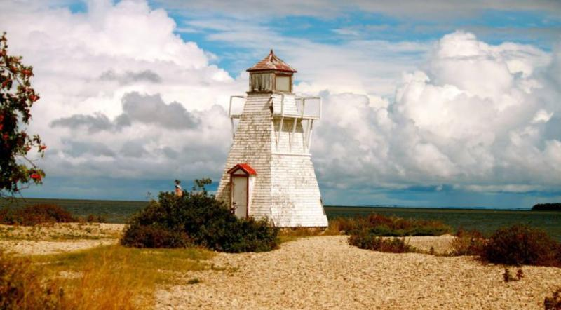 Lighthouse at Hecla Grinstone