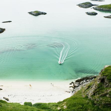 Beach, Sommarøy in Troms
