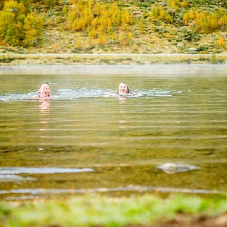 bading i aurlandsfjorden