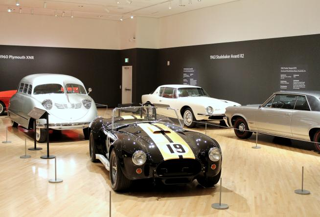 New Taubman Exhibition Showcases Iconic American Cars Motorcycles - Exhibition car