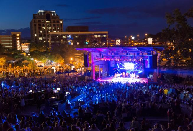 Car Rental Roanoke Va: Outdoor Music Venues In Virginia's Blue Ridge Mountains