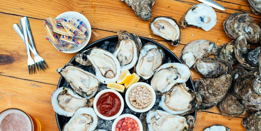 Shucked Gulf Oysters