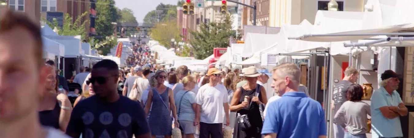 Carmel International Arts Festival in Carmel, Indiana