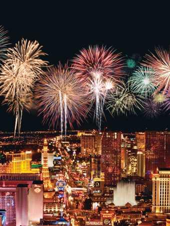 Fireworks Strip