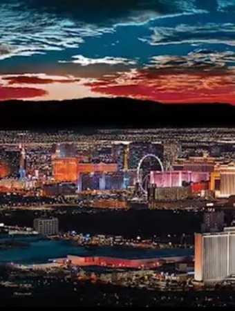 Vegas landscape