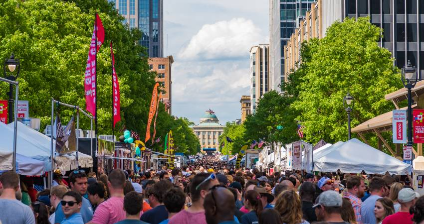 A Year Full Of Major Festivals And Celebrations Lies Ahead In Raleigh NC These Events Serve An Important Purpose They Mark History Sense Pride