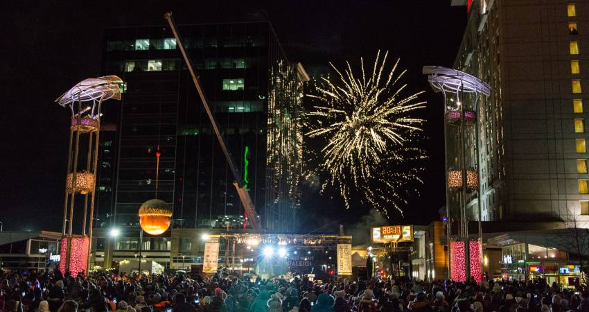 First Night Raleigh: A Guide to Downtown Raleigh's Massive New Year's Eve Celebration
