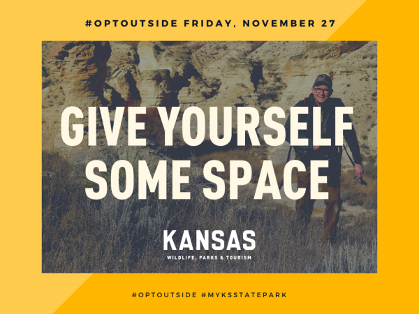 Opt Outside at Kansas State Parks for your chance to win a free night's stay at a state park cabin