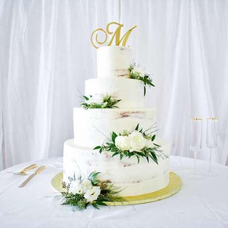 NOLA wedding cake