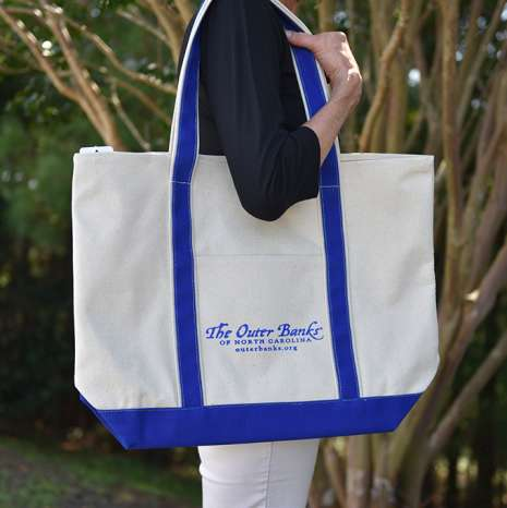 OBX | Outer Banks Canvas Boat Tote