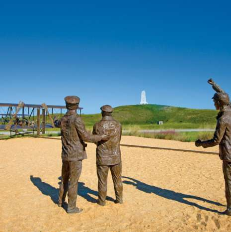 Wright Brothers Memorial First Flight