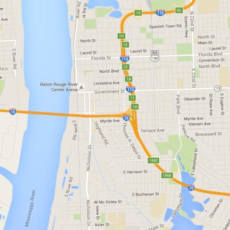 Baton Rouge Map Maps | Visit Baton Rouge Baton Rouge Map