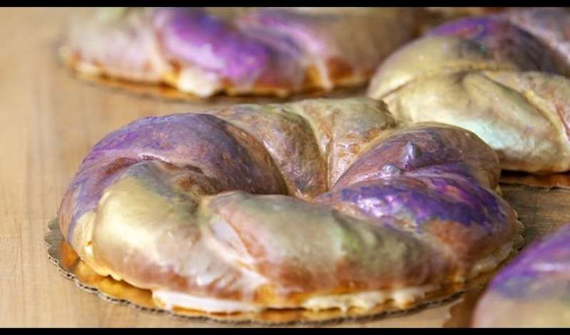 Mardi Gras King Cake Recipe from Sucre in New Orleans