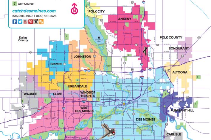 Des Moines Maps | Downtown Map, Trails Map & More