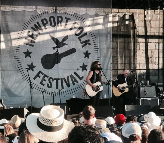John Prine at Newport Folk Festival