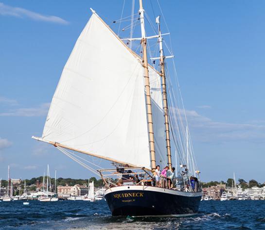 Schooner Aquidneck Sailing Charter