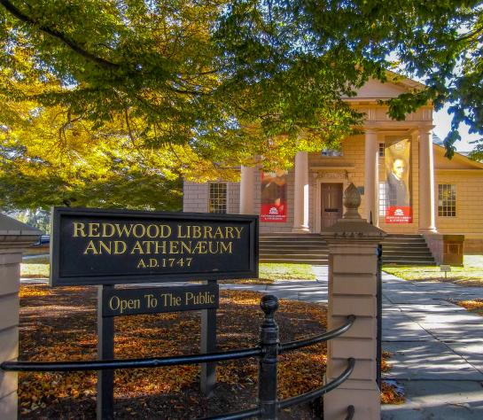 Redwood Library Banners