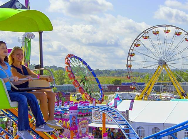 NYS Fair skyrides