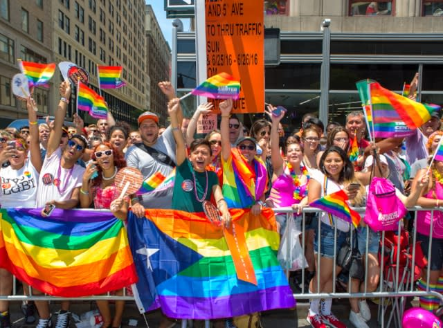 New York City Pride March; Photograph: Chris Gagliardi