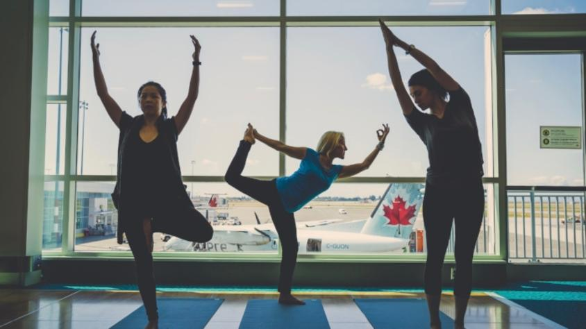 Yvr Launches Yoga Program
