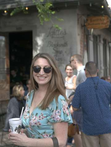 Cool Cousin Emily at Lafitte's