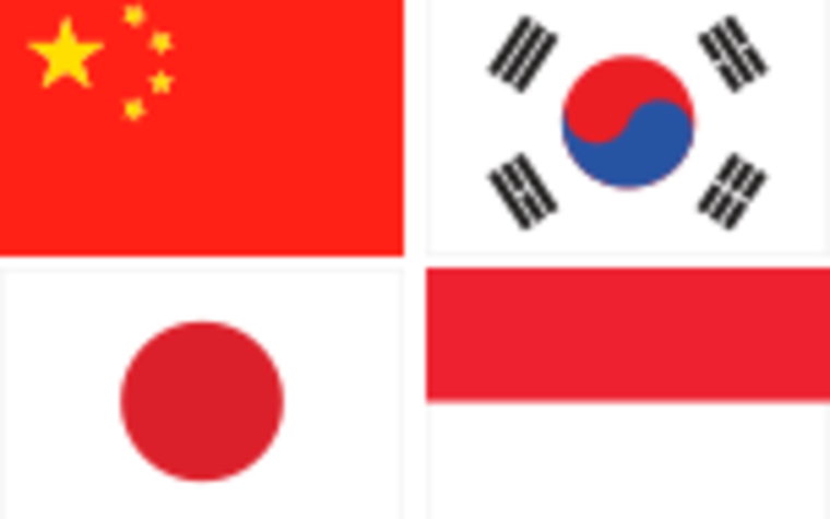 Flags - Asia