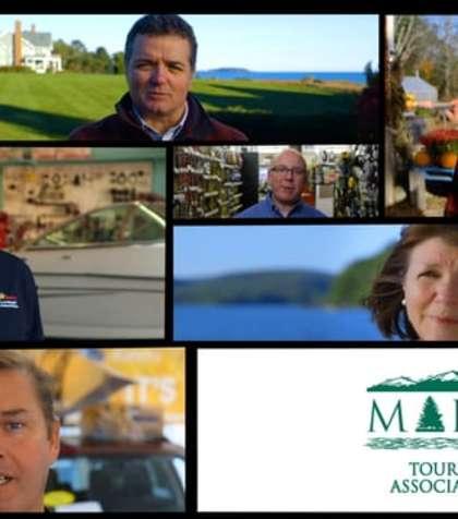 "Video Thumbnail - vimeo - ""I AM MAINE TOURISM"" Compilation"
