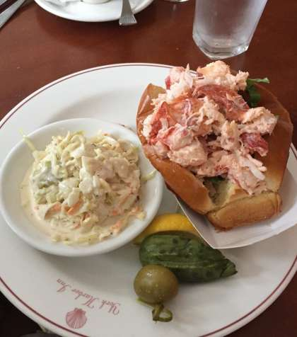 Lobster Roll York Harbor Inn