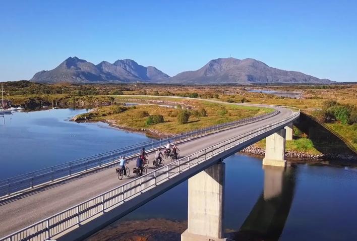 Sykkelopplevelser på Helgeland