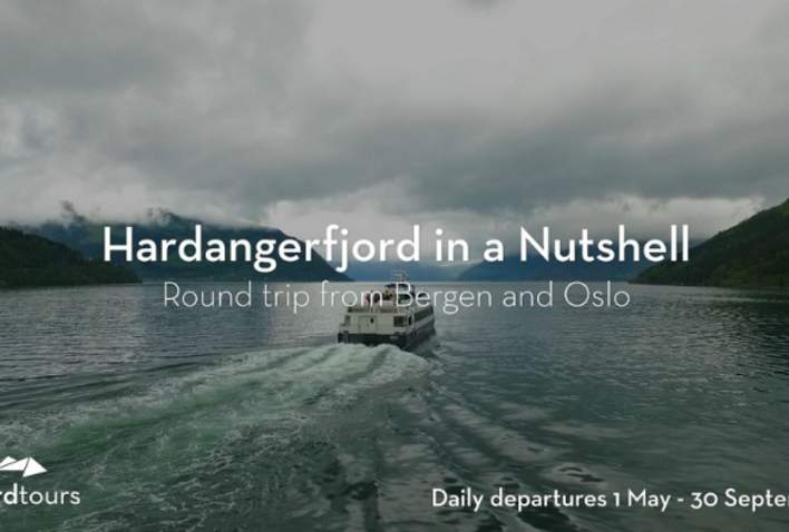 Hardangerfjord in a Nutshell by Fjord Tours